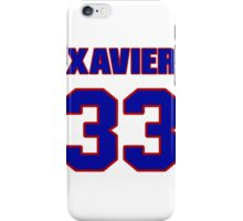 National football player Xavier Omon jersey 33 iPhone Case/Skin