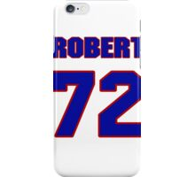 National football player Robert Gallery jersey 72 iPhone Case/Skin