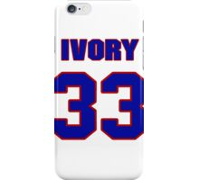 National football player Ivory Lee jersey 33 iPhone Case/Skin