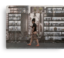 Vision of a new art gallery Canvas Print