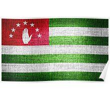 Abkhazia Flag Poster