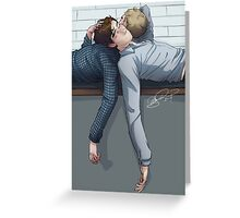 When John first broached the subject of best man… Greeting Card