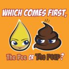 Which Comes First, The Pee or The Poop? by mechanimation