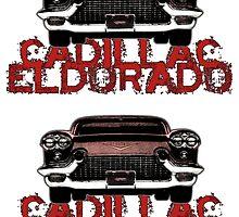Cadillac Eldorado tribute - 2 stickers by Vittorio Magaletti