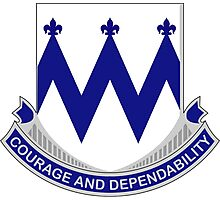 86th Infantry Regiment - Courage and Dependability Photographic Print