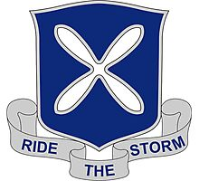 88th Infantry Regiment - Ride The Storm Photographic Print