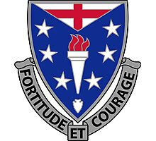 104th Infantry Regiment - Fortitude Et Courage - Fortitude And Courage Photographic Print