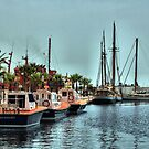 The Marina, Cartagena, Costa Calida, Spain by Squealia