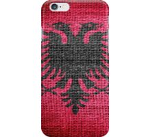 Albania Flag iPhone Case/Skin