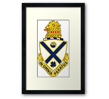 114th Infantry Regiment - IN OMNIA PARATUS - In All Things Prepared Framed Print