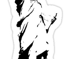 Lady Liberty with DJ Headphone Sticker