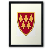 32nd Army Air & Missile Defense Command Framed Print