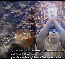 Matthew 19 : 14 by bamagirl38