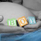 Boy Belly Bump by Taylor Sawyer