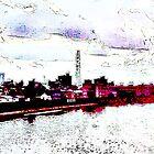 A part of Tokyo, by this river by Atsuhiko Tokunaga