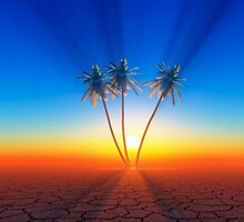 palm trees by danguf