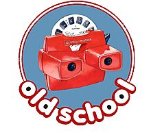 Old School View Master Photographic Print