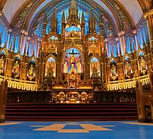 Notre Dame de Montreal I by Stefan Chirila