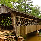 Poole's Mill Covered Bridge by Janie Oliver