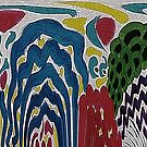 The Abstract Garden by George Hunter