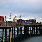 Teignmouth Pier, Devon UK by lynn carter