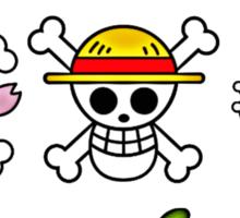 Strawhat Pirates (Newly Edit) Sticker