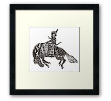 Complicated Cowgirl Framed Print