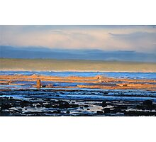 Orange Coloured Waves Still Bay South Africa Photographic Print