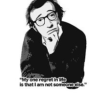 """""""My one regret in life is that I am not someone else."""" by paradossi"""