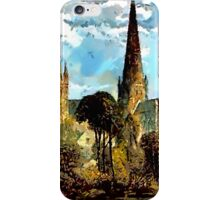 Lichfield Cathedral, Staffordshire - all products iPhone Case/Skin