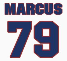 National football player Marcus Price jersey 79 by imsport