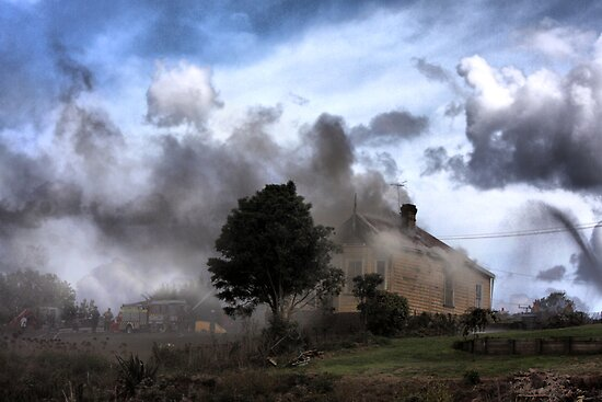 Where There's Smoke ... by Varinia   - Globalphotos