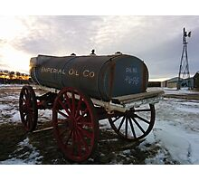 Sukanen #10 - Imperial Oil Wagen Photographic Print
