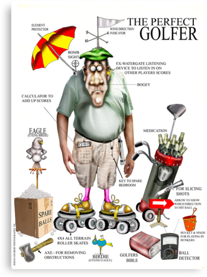 THE GOLFER by Mugsy