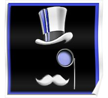 TheBusinessGaming Logo - Blue Poster