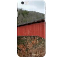 Freshly Rejuvenated Hillsgrove Covered Bridge iPhone Case/Skin