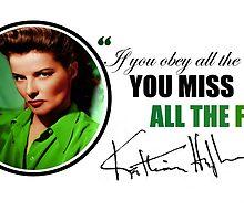 Katharine Hepburn by imitationbagel