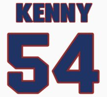 National football player Kenny Price jersey 54 by imsport