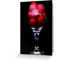 Funny Looking Tomato Juice? Greeting Card