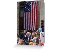 McCain - Palin Greeting Card