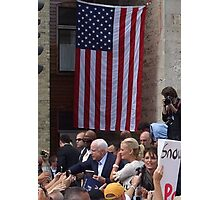 McCain - Palin Photographic Print