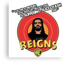 Looney Reigns Canvas Print