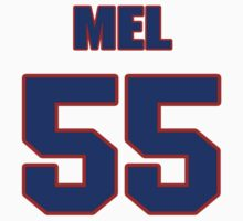 National football player Mel Kaufman jersey 55 by imsport