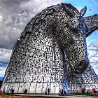 Kelpies at the Helix by Tom Gomez