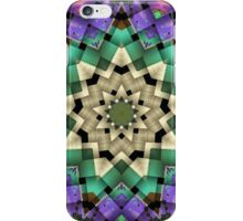 Quilted Star Weave-Available As Art Prints-Mugs,Cases,Duvets,T Shirts,Stickers,etc iPhone Case/Skin