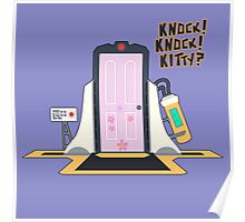 knock knock kitty?? Poster