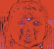 Red Budha by Fiona Garrett-Benson