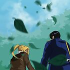 Edward and Roy out for a walk by KrisKenshin
