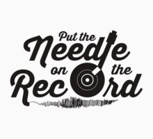 Pump Up The Volume - Put the Needle on the Record T-Shirt