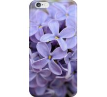 Lilac Flowerettes iPhone Case/Skin